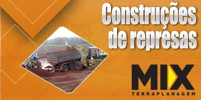 Construções de represas